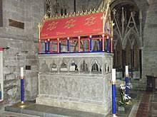 Thomas de Cantilupe's tomb